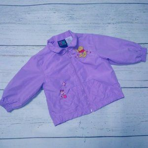 Winnie the Pooh 2T Toddler Jacket Windbreaker